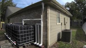 Elaborate rainwater collection