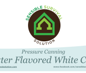 pressure canning butter flavored white corn