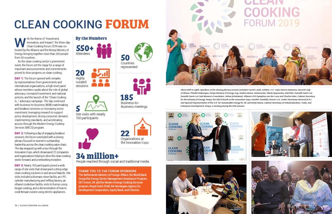 Interior spread: Clean Cooking Forum