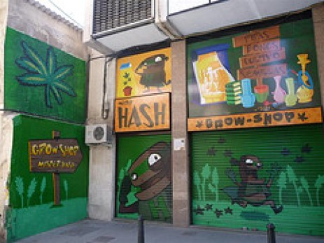Grow shops and head shops are abundant in every city in Spain (ShortyNZ2000)