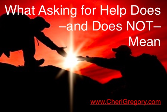 What Asking for Help Does and Does Not Mean