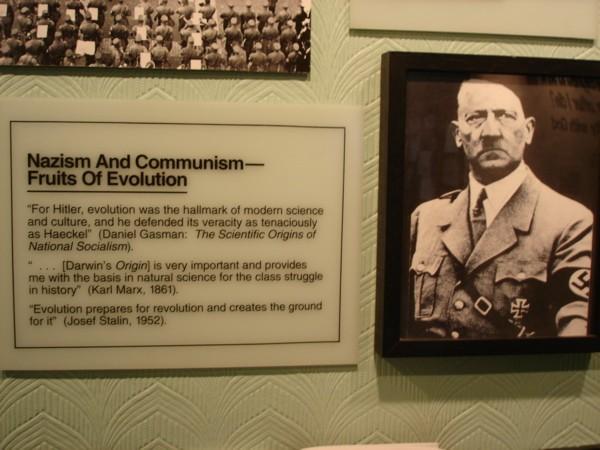 Santee Nazi Plaque