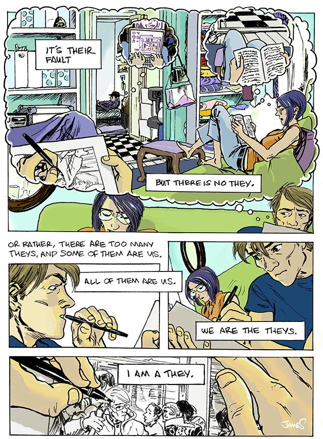 They 2, comic by James Romberger