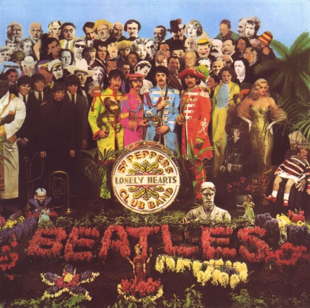 Terry Southern on the cover of Sgt. Pepper