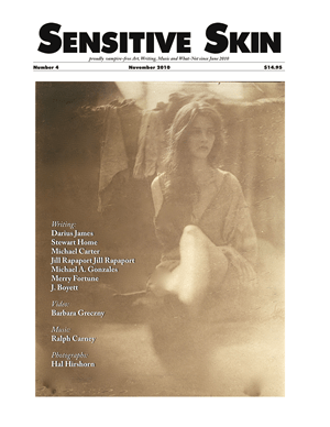Sensitive Skin #4 cover photograph by Hal Hirshorn