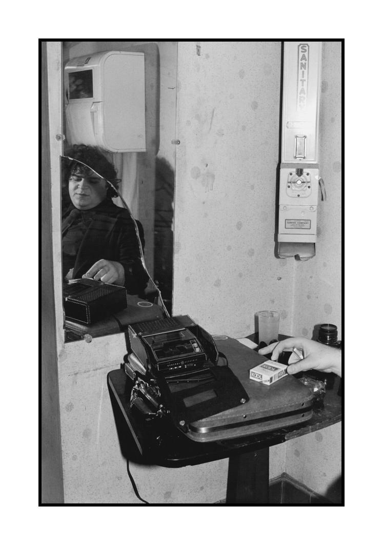 David Thomas of Pere Ubu, at Bookies Club 870, Detroit, March 25, 1978
