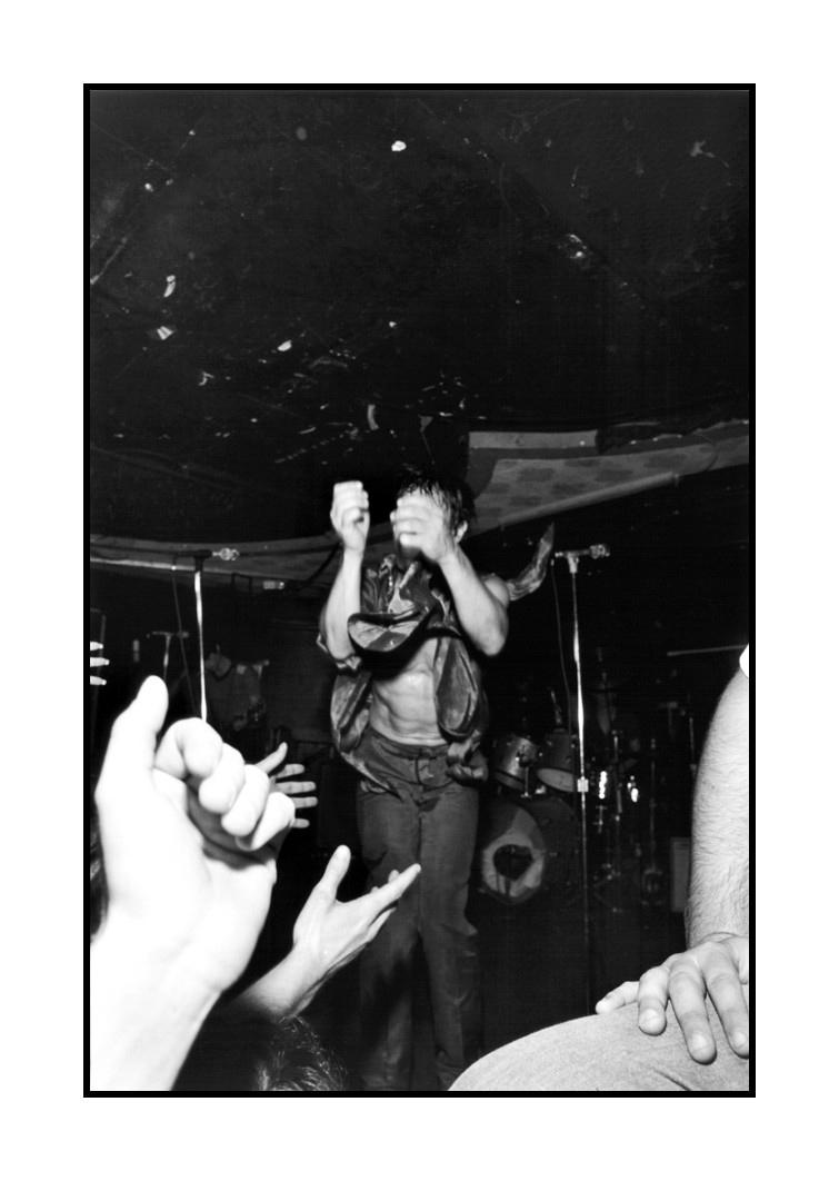 Iggy Pop, Bookies Club 870, Detroit, 1980