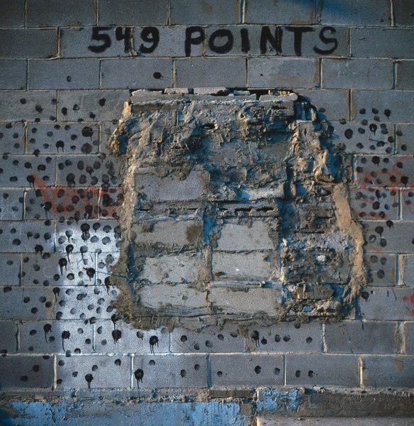 549 Points, Clinton Street, 1984, photograph by Philip Pocock