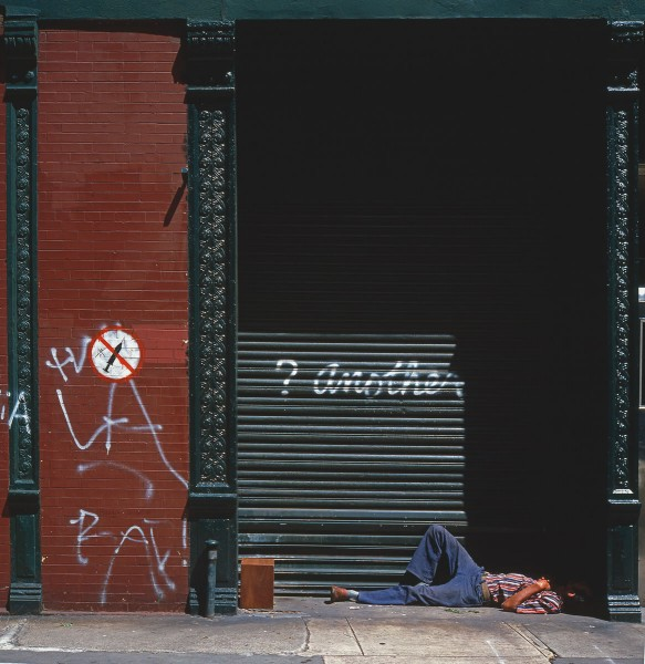 Another, Essex St., 1983, photograph by Philip Pocock