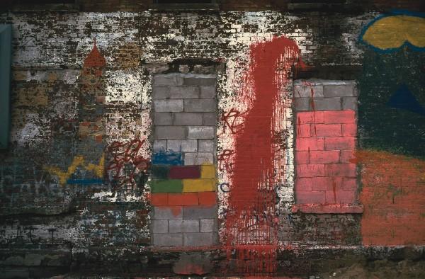 Alfresco, E. 3rd St. & Ave. B, 1981, photograph by Philip Pocock