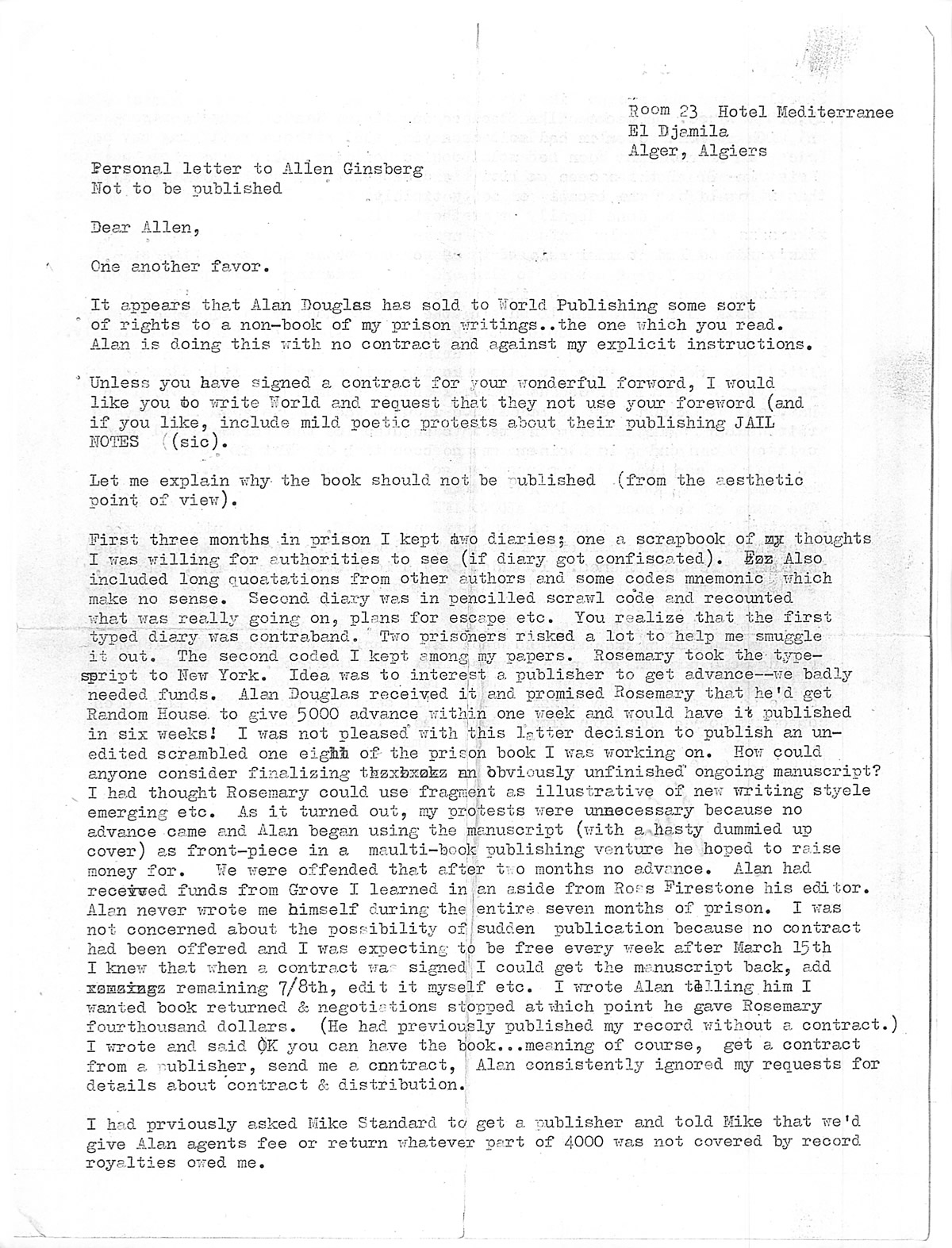 ginsbergs friends essay Free allen ginsberg papers, essays, and research papers.