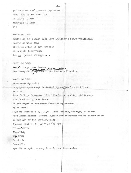 timothy leary letter algeria 1970 page4