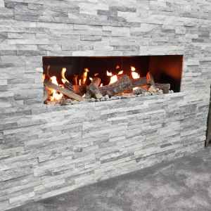 Deluxe 11 Frameless Open Fronted Gas Fire