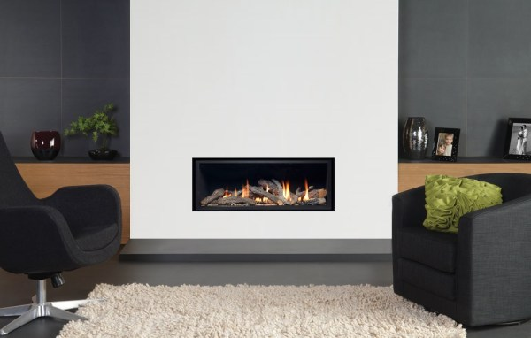 Pinnacle frameless gas fire main picture
