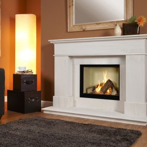 Verine Avignon Celena Suite Luxury Gas Fire & Surround Suite