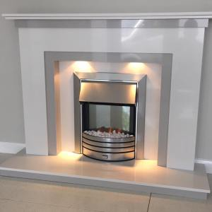 Rokah Marble Fireplace Surround