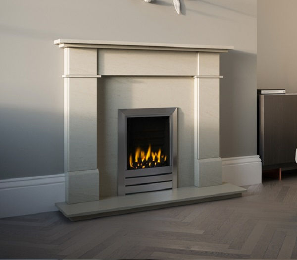 The Aragon Marble Fireplace