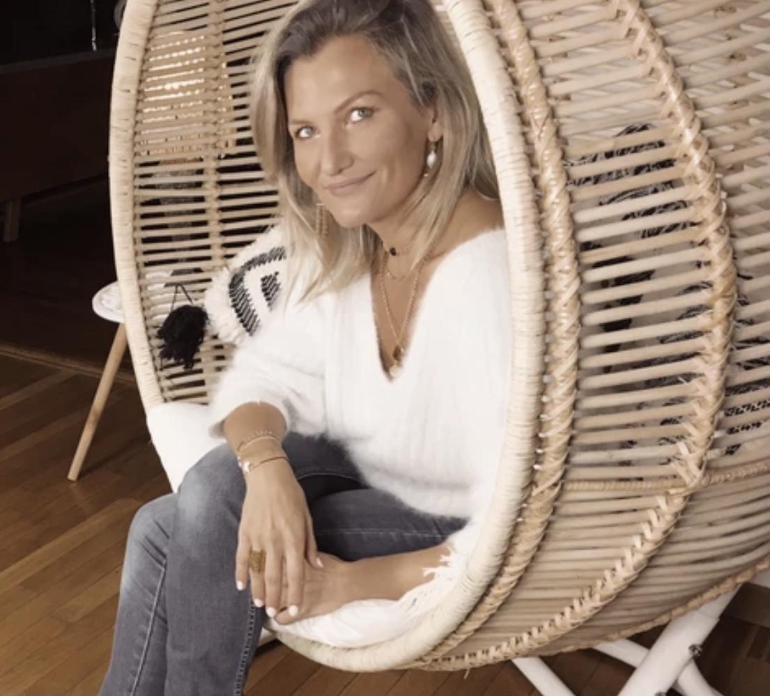 Portrait de Claire, fondatrice de la marque de bijoux «Claire Berteau»