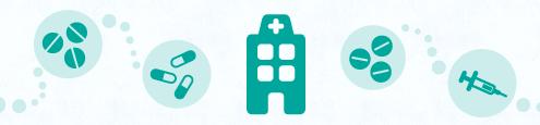 temperaturas em centros de saúde