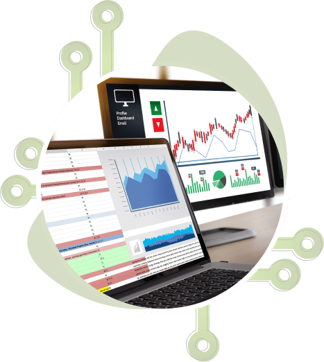 Graphic analytics on multiple devices