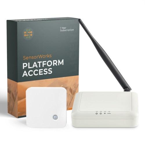 SensorWorks ERS LoRaWAN CO2 Smart Room Sensor with LoRa Indoor Femto Gateway