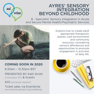 Sensory Integration, Sensory Modulation and Praxis in MENTAL HEALTH 2020 Ads -8