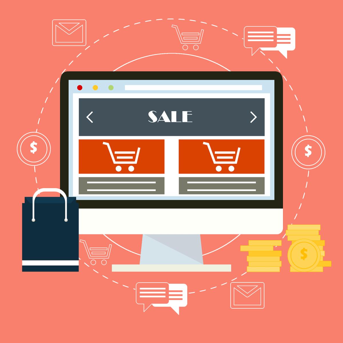 ecommerce, online sales, sales