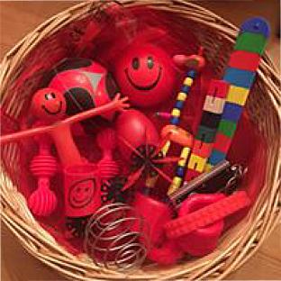 Bespoke Sensory Packs  Red