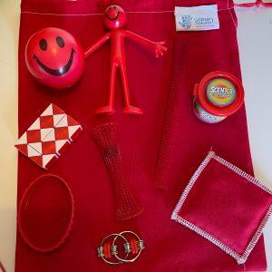 Red Fidget Pack