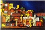 cityscape 3, oil on canvas
