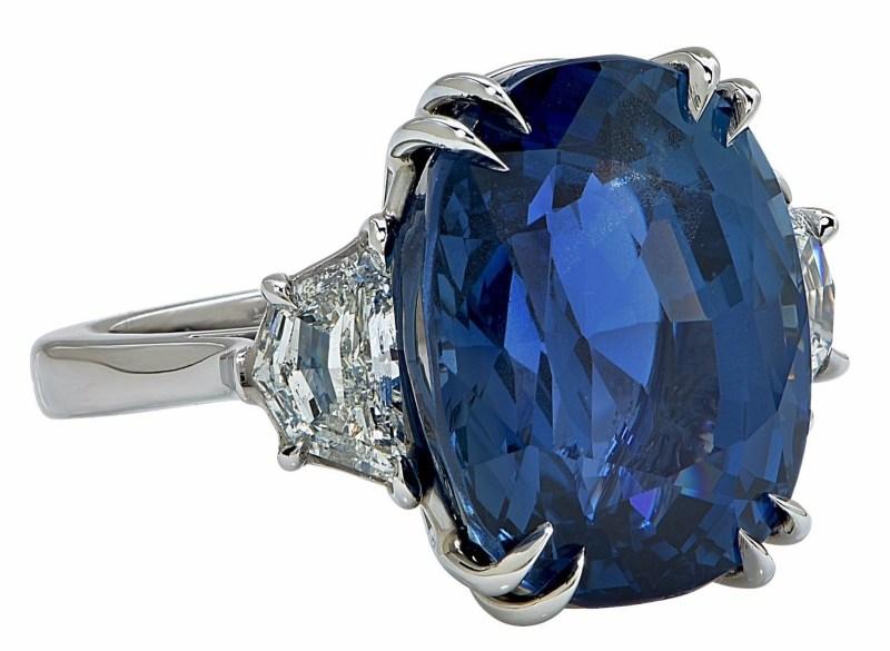 Stunning Handmade Aletto AGL Certified 20.42ct Unheated Burma Sapphire Ring