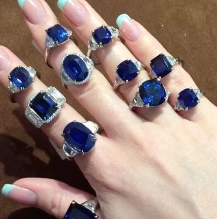 Gorgeous Sapphire and Diamond Rings at Bayco Jewelry