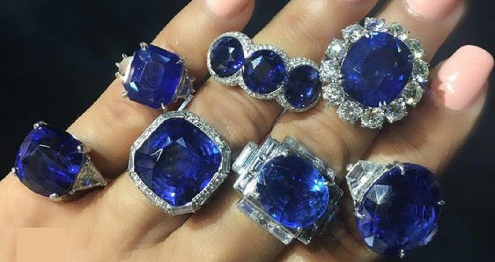 Gorgeous Sapphire and Diamond Rings