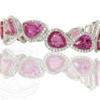 A Gorgeous Pink Sapphire Bracelet