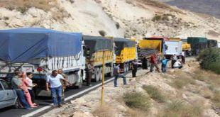 الشاحنات اللبنانية
