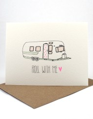 Roll with me card