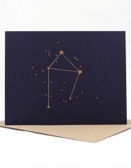 Constellation card, Libra
