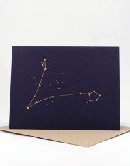 Constellation card, Pisces