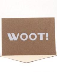 WOOT! Blank card