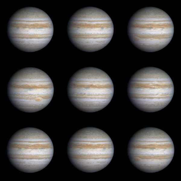 Planets Photos Jupiter Rotation
