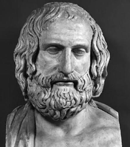 euripides-bust