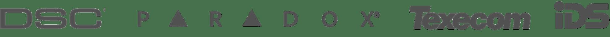 Alarm integration logos