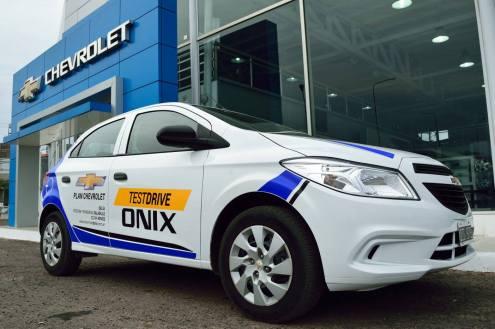 Onix test drive