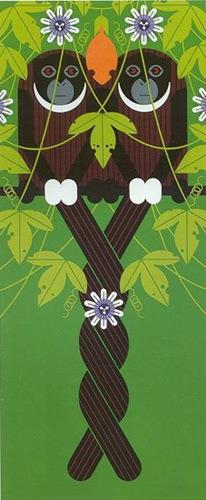 """Love on a Limb,"" by Charley Harper"