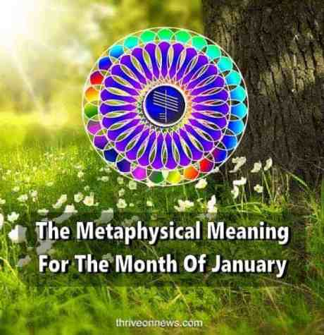 metaphysical meaning for the month of January