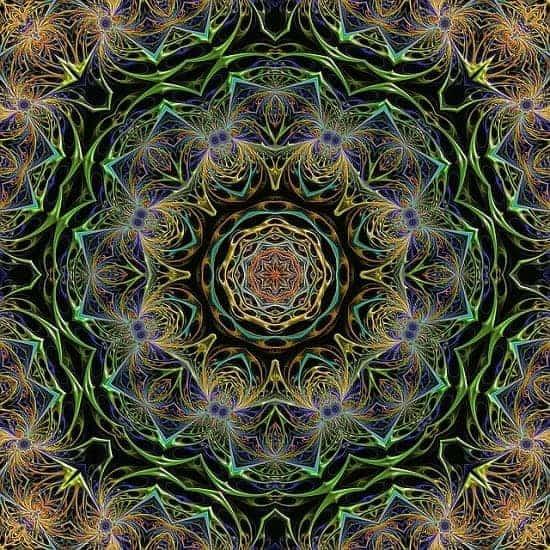 psychic development mandala