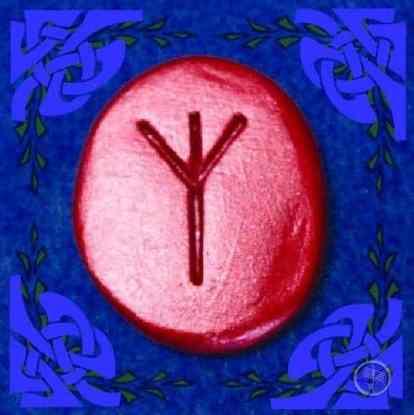 Algiz Rune Stone Meaning