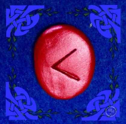 Kenaz Rune Stone Meaning