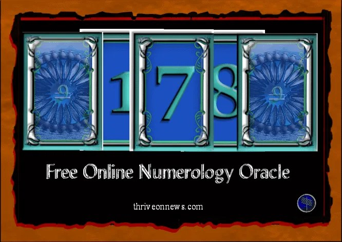 numerology oracle free online