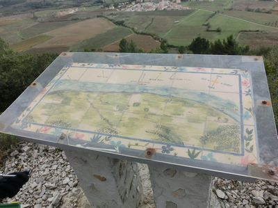 Travaux Novembre - Table Orientation - Sentier Francis Lastenouse